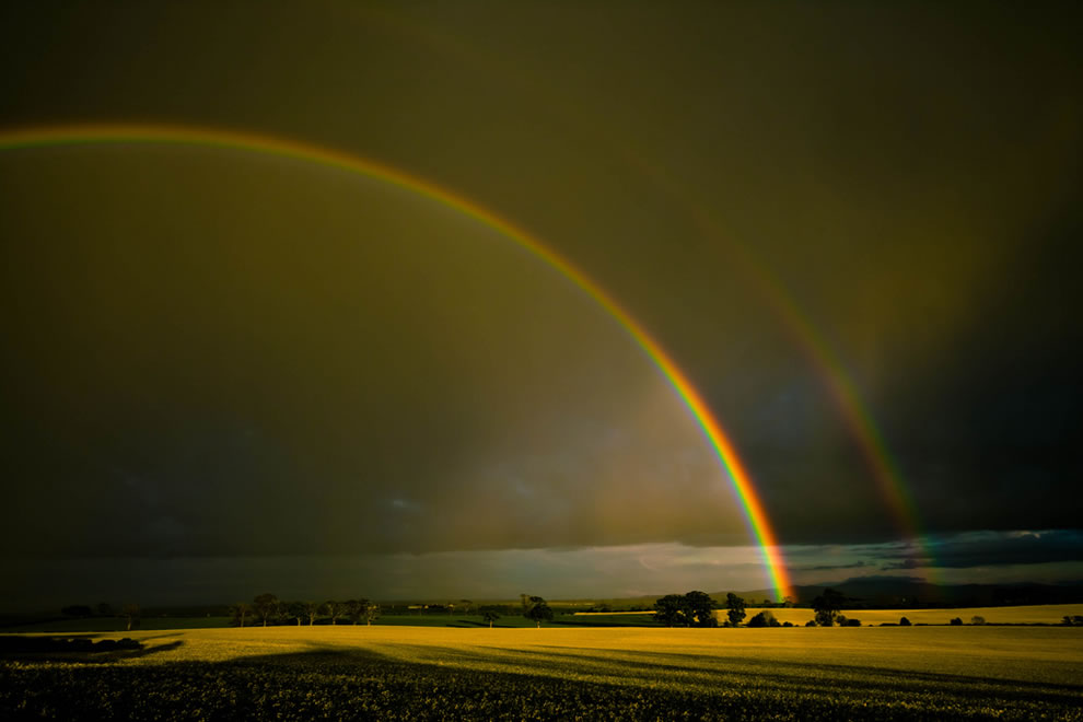 Double-rainbow-over-the-Merse-Scotland